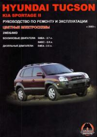 Руководство по ремонту и эксплуатации Kia Sportage II c 2003 г.
