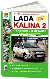 Эксплуатация, обслуживание, ремонт Lada Kalina 2.
