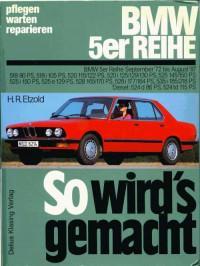 Руководство по обслуживанию и ремонту BMW 5 серии 1972-1987 г.