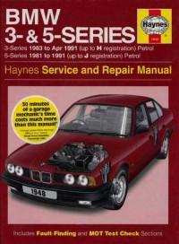 Service and Repair Manual BMW 5-Series 1981-1991 г.
