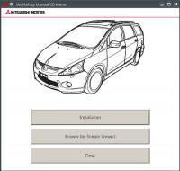 Workshop Manual Mitsubishi Grandis 2006-2008 г.