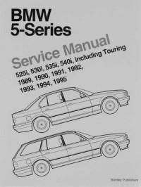 Service Manual BMW 5 Series 1989-1995 г.