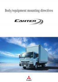 Руководство по монтажу кузовов/оборудования Mitsubishi Canter.