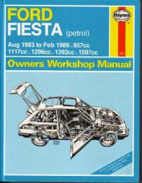 Owners Workshop Manual Ford Fiesta 1983-1989 г.
