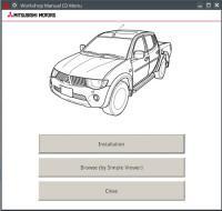 Workshop Manual Mitsubishi L200 2007-2015 г.