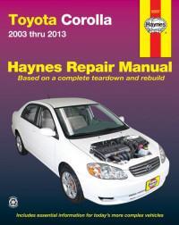 Haynes Repair Manual Toyota Corolla 2003-2008 г.