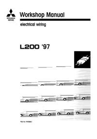 Electrical Wiring Mitsubishi L200 1997-2002 г.