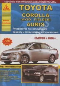 Руководство по эксплуатации, ремонту и ТО Toyota Corolla с 2006 г.