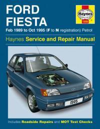 Service and Repair Manual Ford Fiesta 1989-1995 г.
