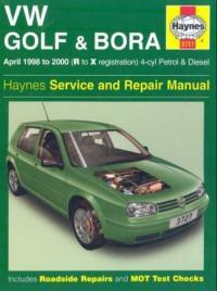 Service and Repair Manual VW Bora 1998-2000 г.