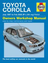 Owners Workshop Manual Toyota Corolla 1997-2002 г.