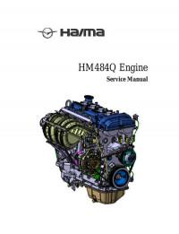 Service Manual Haima HM484Q Engine.