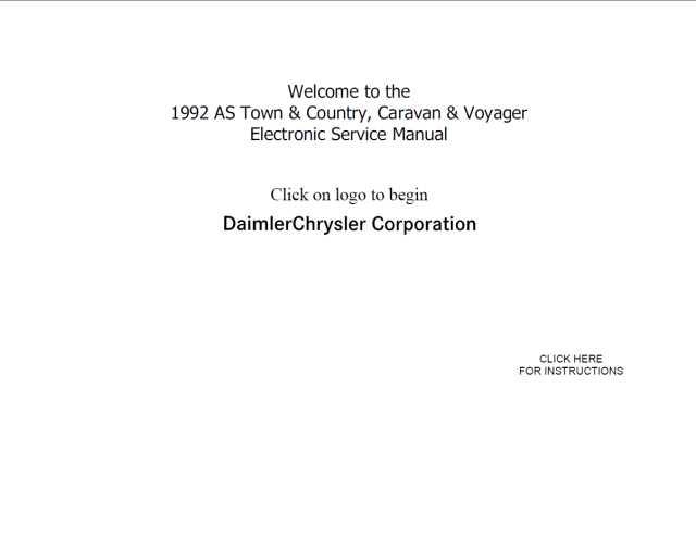 voyager grand voyager full service repair manual 2001 2002