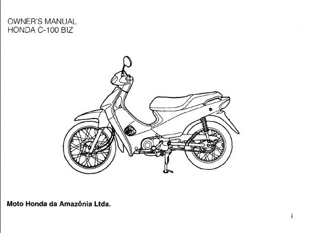 honda c100 service manual pdf