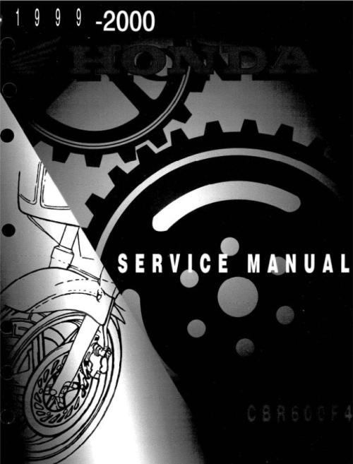 2002 honda cbr 600 f4i service manual pdf