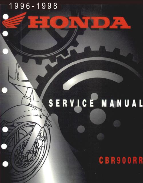 инструкция по эксплуатации и руководство по ремонту мототехники Honda