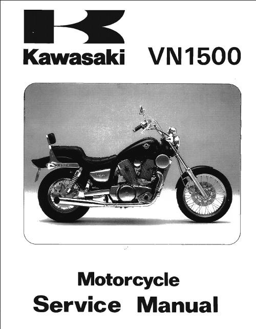 1995 kawasaki vulcan 1500 service manual