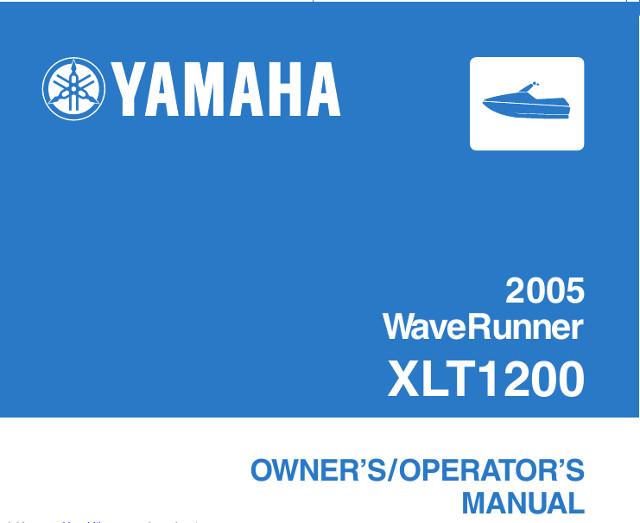 Эксплуатации инструкция yamaha по гидроцикла