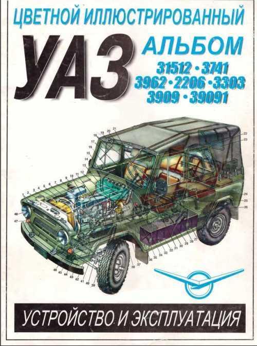 Книга по ремонту уаз 31512 скачать бесплатно