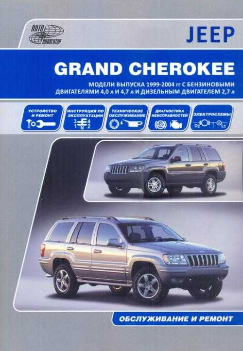 Инструкции по эксплуатации jeep