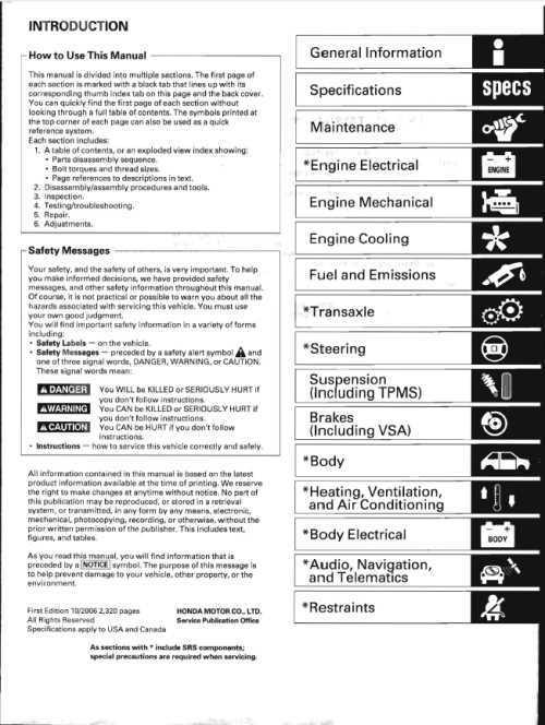 2007 honda по эксплуатации crv инструкция