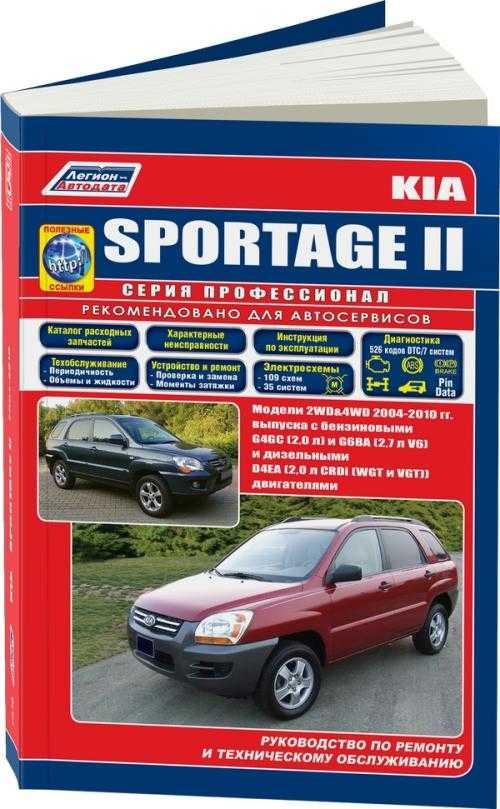 Kia sportage 3 книга по ремонту скачать
