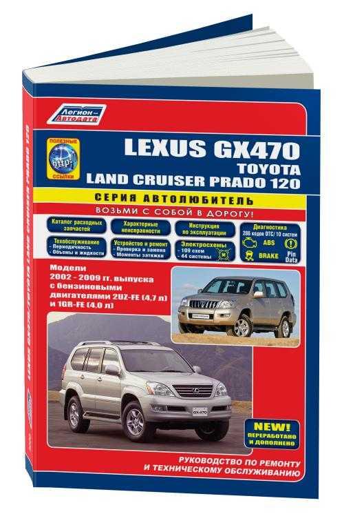 руководство по эксплуатации lexus gx470 торрент