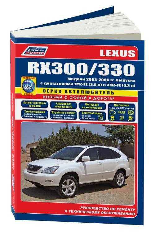 Скачать бесплатно инструкция по эксплуатации lexus rx350