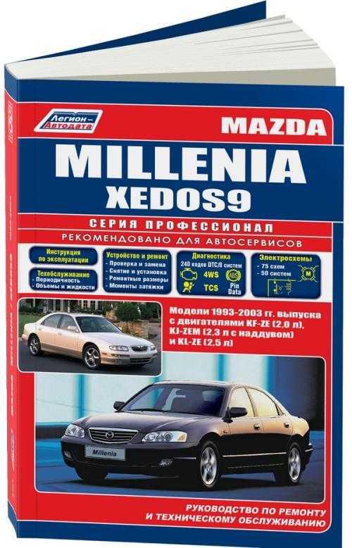 Скачать бесплатно книгу по ремонту mazda millenia