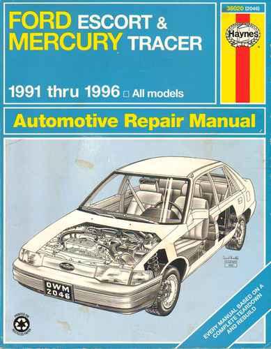 service manual download 1996 ford escort owner 1996. Black Bedroom Furniture Sets. Home Design Ideas