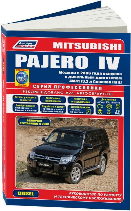 У кого есть сие чудо: руководство по ремонту и эксплуатации mitsubishi pajero sport / montero sport / shogun