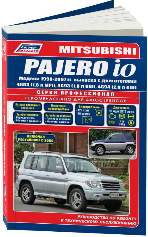 инструкция mitsubishi pajero io