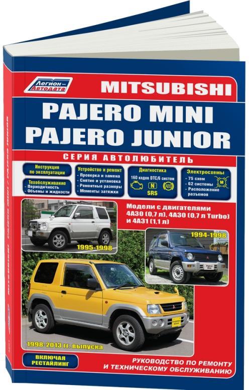Руководство на русском языке по техническому обслуживанию и ремонту автомобилей mitsubishi challenger/montero