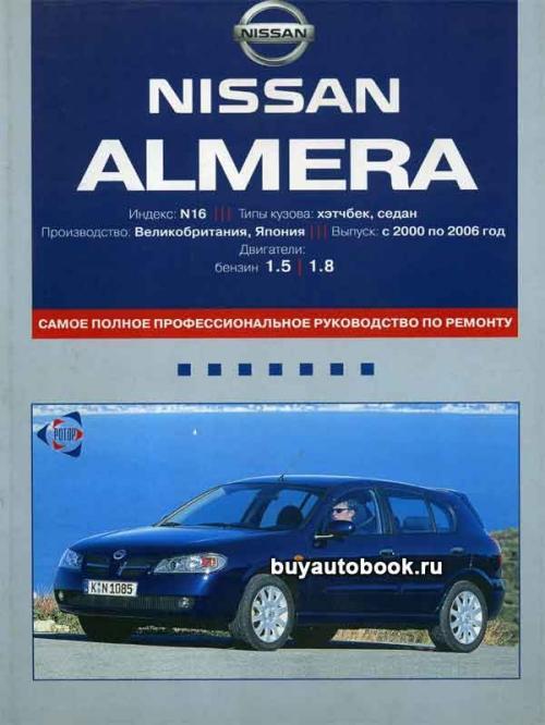 Ниссан Альмера N16 мануал