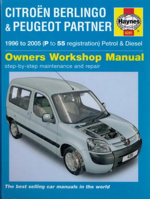 Руководство по Ремонту Peugeot Partner Citroen Berlingo