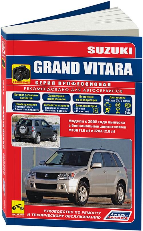 Grand vitara инструкция по эксплуатации