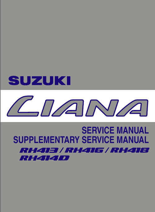 suzuki liana manual